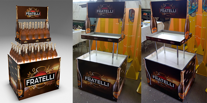 Стойки для Fratelli