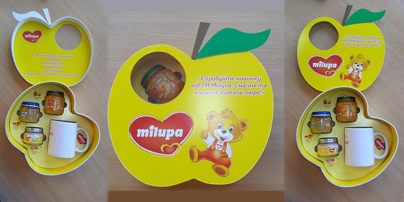 Подарочная упаковка для ТМ Milupa