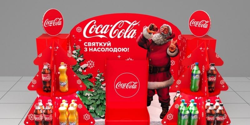 Стойка кока-кола